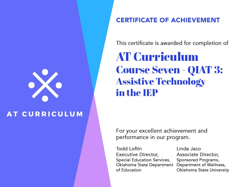Course #7 – Your Certificate