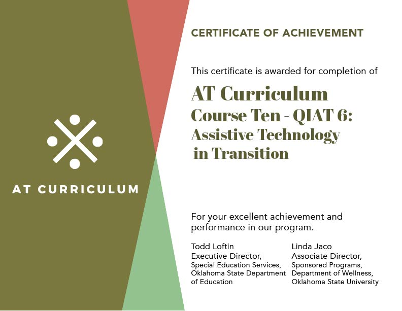 Course #10 – Your Certificate