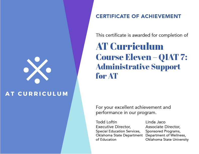 Course #11 – Your Certificate