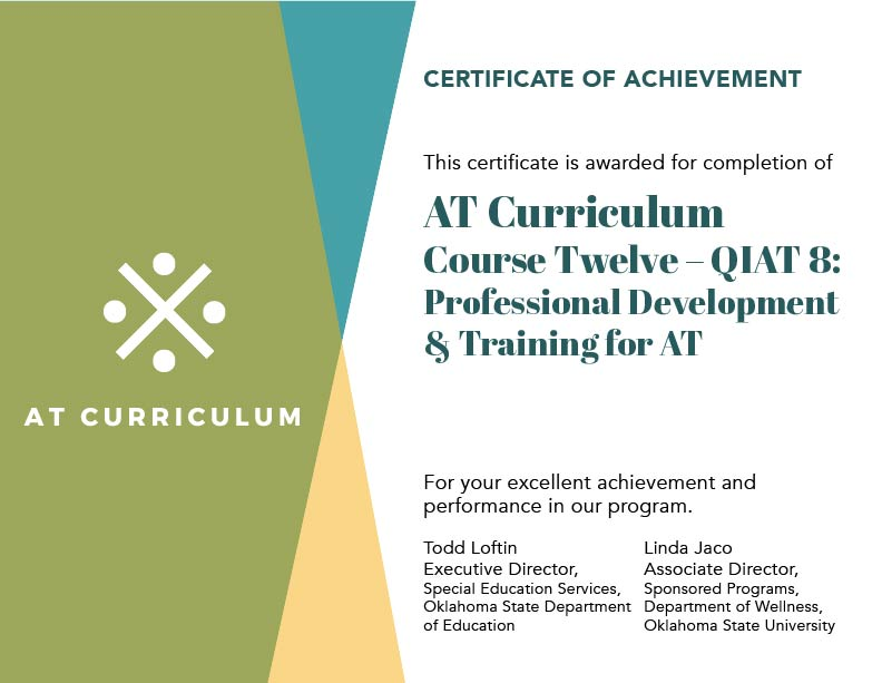 Course #12 – Your Certificate